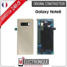 Vitre arrière Gold Original Samsung Galaxy Note 8 SM-N950F