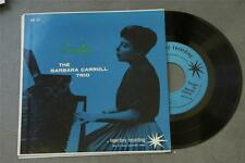 THE BARBARA CARROLL TRIO Carrolling SESAC AD 51 Rare JAZZ EP NM