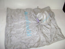 AMERICAN GIRL Sleeping Bag for Camping Carrier Rolls Up Gray Blue Purple RETIRED