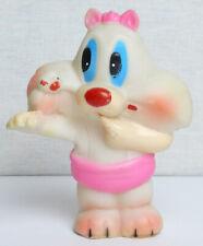 Vintage Original Soviet Russian Rubber Toy Raccoon Doll Ussr