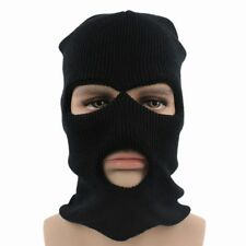 Full Face Cover Ski Mask Three 3 Hole Balaclava Winter Hat Face Mask Bike