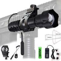 200 Yards T20 IR Infrared Night Vision Zoom Flashlight Hunting Lamp Fox Hog Wild