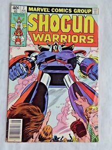 Shogun Warriors Vol. 1 No 7 August 1979 Marvel Comics First Printing VF/NM (9.0)