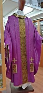 Casula  Morello Made in Italy Atelier LAVS mantello pura lana screziata in oro