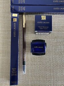 Estee Lauder Stay In Place Eye Pencil 02 Coffee + Pencil Sharpener