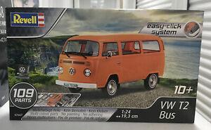 1/24 Revell 07667 Volkswagen T2 Bus Easy-Click System