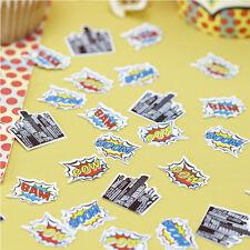 Table Confetti - Pop Art Superhero Birthday Party Table Decoration