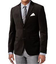 Alfani Red Men's Cotton Velvet Black Geo 46R Slim-Fit Evening Jacket Sportcoat
