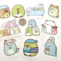 RARE! 10 Large Sumikko Gurashi Large Kawaii Waterproof Stickers For Laptop Phone