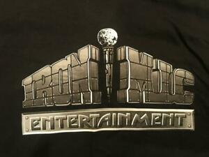 Mike Tyson Ultra Rare IRON MIC ENTERTAINMENT X-Large T-shirt given to Team