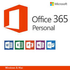 Microsoft Office 365 Personal - 1 PC - 1 MAC - 1 Jahres Abo MS Office 2016