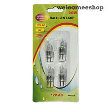 G4 20w 12v AC Halogen Dimmable,Clear Bulb Lamp Pack of 12