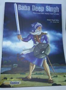 Sikh Kids Comic Shaheed Baba Deep Singh Ji by Daljeet Singh Sidhu in English B66
