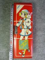 5 doors Pen Case Retro Pencil Case Kutuwa Vintage Rare Anime Manga F/S ZJP