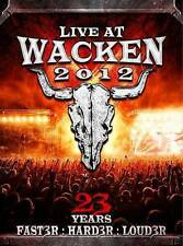 Live at Wacken 2012: 23 Years Faster, Harder, Louder DVD BRAND NEW FACTORY SEAL