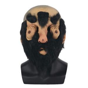 Halloween Bald Dick Face Big Nose Beard Mask Penis Fancy Dress Masquerade Masks