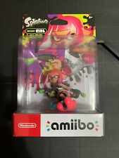 Neon Pink Inkling Girl Splatoon Series Nintendo Amiibo - Sealed NIB