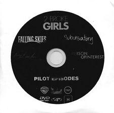 2 BROKE GIRLS PILOT EPISODE PLUS FOUR OTHER POPULAR TV PILOTS