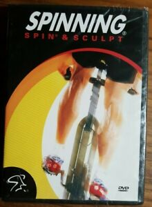 💿 SPINNING Spin & Sculpt (DVD 2003) Mad Dogg Athletics LOSE WEIGHT - NEW