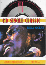 BILLY OCEAN - CD SINGLE CLASSIC 4TR Red Light Dutch Cardsleeve 1989 (BR Music)
