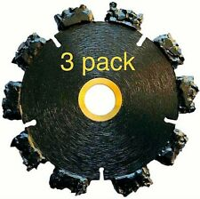 3pk 4 Fire Rescue Root Cutter Carbide Tipped Demolition Blade X 250