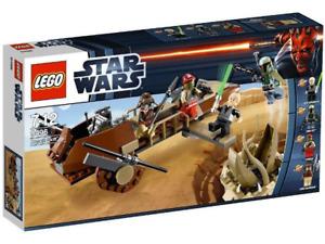 LEGO STAR WARS 9496 DESERT SKIFF New In Sealed Box