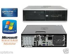 HP Elite 8100 250GB Win 7 Professional Core I5 3.1GHz 4GB RAM WiFi SFF Desktop
