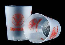 Jägermeister Likör, 10 x Shotglas Kunststoffglas, Probierbecher 2/4cl