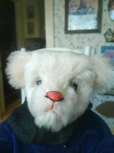 Ltd. Ed. Artist Teddy bear by B. Nesler of Grand Pa Pa Jingles Bear Co. 16in EUC
