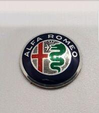 2x Alfa Romeo 15mm Key Fob Sticker Badge Emblem GUILIETTA 159 MiTo GT New Style