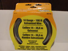 The Hillman Group OOK 14-Gauge x 100 ft. Galvanized Steel Wire Cable, # 50142
