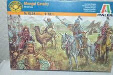 MAQUETTE ITALERI SOLDAT CAVALERIE MONGOL CAVALRY XIII SIECLE NEUF MODEL KIT