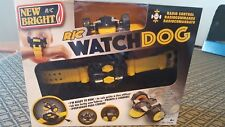 NEW BRIGHT 3703U YELLOW WATCHDOG REMOTE CONTROL WATCH WITH USB CORD
