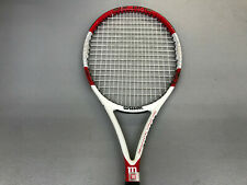 Wilson Six One 95S Preowned Tennis Racquet Grip Size 4_3/8""