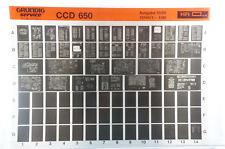 Grundig Service CCD 650 Stereo Kompaktanlage Microfiche 1989 vintage K179