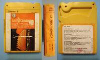 Stereo 8 Cartridge Musicassetta LA FISARMONICA di rienzo zucchi ITALY 1972 no lp