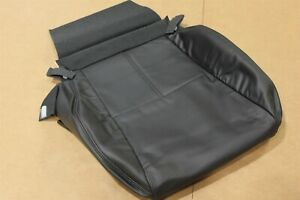 OEM Factory 04 Acura TL Front Driver Side Seat Cover Bottom Cushion Black