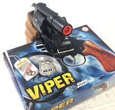 New VIPER 8 shots Italian EDISON GIOCATTOLI Detective cap gun pistol KidsToy