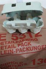 Egg cartons (New - half dozen size)(260)(Grey)
