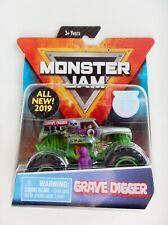 Grave Digger (Silver) Monster Jam Truck (Figure,Poster)(Spin Master)(2019)