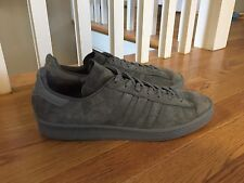 Adidas Campus 80s Originals Sneakers Shoes, Men's Size 11 - Gray Mono