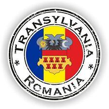 Rumanía Transylvania Sello Sello Pegatina Coche Camión Portátil Tablet Nevera