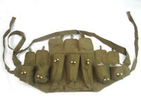 Chinese Army Type 56 Canvas Chest Rig Ammo Pouch Mag Vietnam War Orignial Pouch