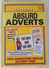 Incredibly Absurd Adverts -   Funny Humourous - 9781903230244