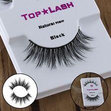 Natural Cross 100% Real Mink Hair False Eyelashes Handmade Eyelash Extension