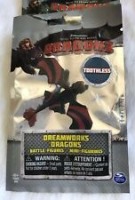 HOW TO TRAIN YOUR DRAGON 2 MINI BATTLE FIGURE RACING STRIPES TOOTHLESS