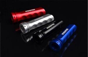 MOMO Handbrake Black/Red/Blue/Silver Cover Grip Universal Handle Gear Racing