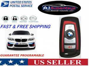 OEM Unlocked Keyless Remote Key Fob 4 buttons BMW SMART PROXIMITY YGOHUF5767