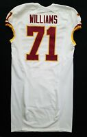 #71 Trent Williams of Washington Redskins NFL Locker Room Game Issued Jersey