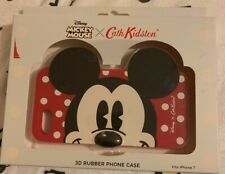 BNIB New Cath Kidston Disney Mickey Mouse 3D Rubber Phone Case iPhone 7 RRP £25